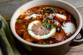 Solanka - mięsna zupa