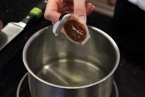 Sos pieczarkowy ostry – krok 1