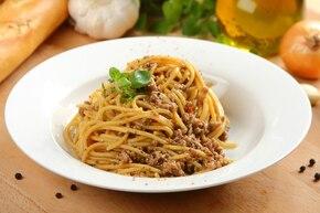 Spaghetti z mielonym mięsem
