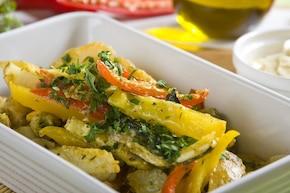 Śródziemnomorskie ziemniaki z chili