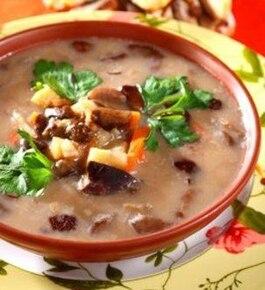 Staropolska Zupa Grzybowa