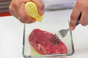 Stek z grilla – krok 1