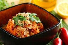 Surówka z marchewki po indyjsku