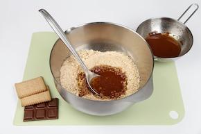 Sernik z białą czekoladą – krok 1