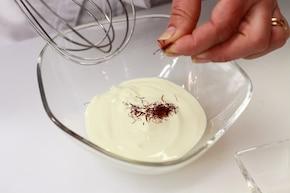 Szafranowe risotto ze szparagami  – krok 1