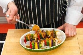 Szaszłyki pełne warzyw  – krok 3