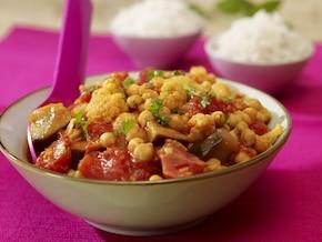 Szybkie curry warzywne