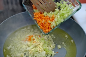 Tagliatelle z mielonym mięsem – krok 2