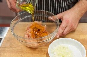 Tagliatelle  z kurczakiem w sosie śmietanowo-musztardowym – krok 1