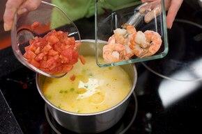 Tajska zupa krewetkowa – krok 4