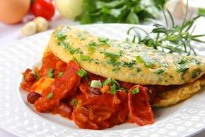 Tortilla z chorizo – krok 7