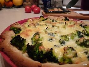 Tarta brokułowo-serowa
