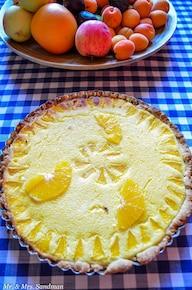 Tarta pomarańczowa z ricottą