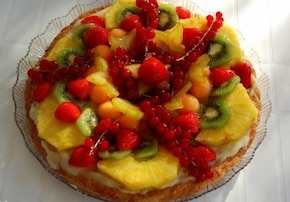 Tarta tutti frutti