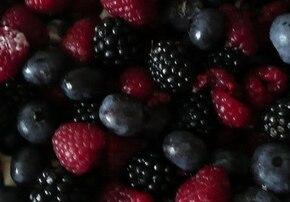 tarta z owocami leśnymi