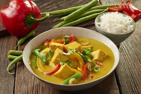 Tofu w rajskim curry