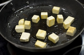 Tofu z cukinią – krok 2