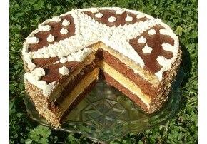 Tort cytrynowo-kakaowy