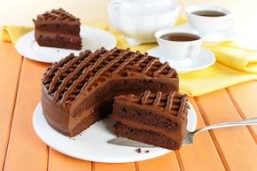 Tort czekoladowy - VIDEO