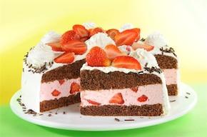 Tort truskawkowy - VIDEO