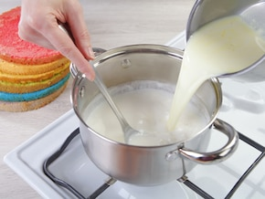 Tort w paski – krok 3