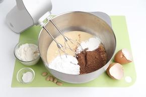 Tort z fasoli – krok 1