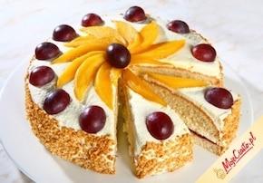 Tort z mango