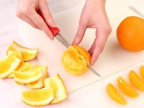 Tort z winogronami i pomarańczą – krok 5