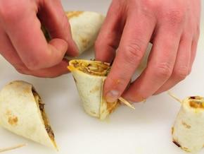 Tortilla z paprykowym nadzieniem   – krok 5