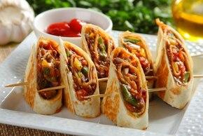 Tortilla z paprykowym nadzieniem   – krok 6
