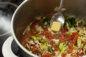 Toskańska zupa fasolowa  – krok 4
