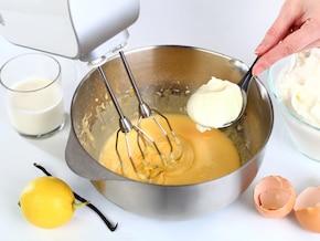 American cheesecake – krok 3