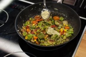Warzywa po chińsku  – krok 4
