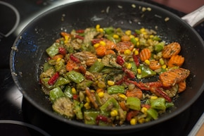 Warzywa po chińsku  – krok 5