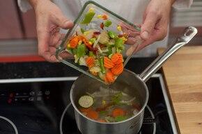 Warzywa po indyjsku   – krok 1