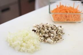 Warzywa w cieście – krok 1