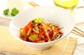 Warzywa w orientalnym stylu