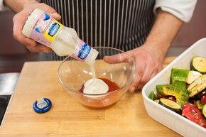 Warzywa z grilla – krok 3