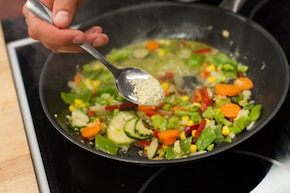 Warzywa z patelni – krok 3