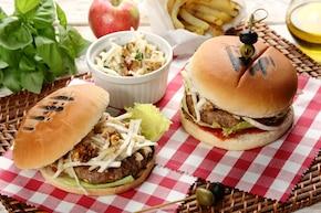 Warzywne burgery z indykiem