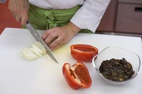 Leczo z warzyw – krok 1