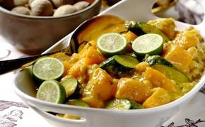 Warzywne ragout w sosie curry