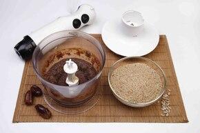 Wegański mazurek bez pieczenia (bez laktozy, bez glutenu, bez jajek, wegański) – krok 3