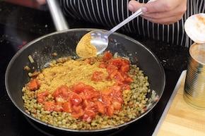 Wegetariańskie pomidory z chili    – krok 3