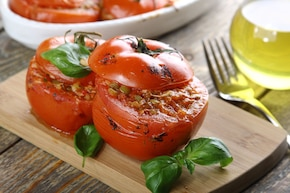 Wegetariańskie pomidory z chili