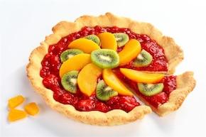 Wiosenna tarta z owocami