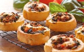 Włoskie ciastka z warzywami