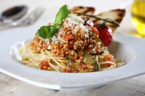 Włoskie spaghetti bolognese