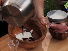 Wołowina w marynacie jogurtowej – krok 2