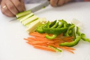 Wołowina z imbirem i warzywami – krok 2